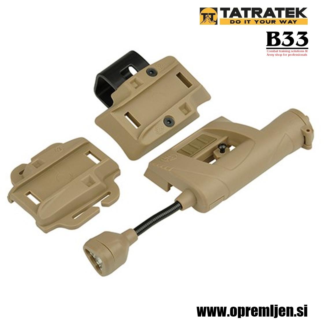 B33 army shop, Tatratek personnel locator beacon (PLB) svetilna naprava za lociranje osebja (coyote ohišje, LED rdeča/zelena/IR , by B33 army shop at www.opremljen.si, trgovina z vojaško opremo, vojaška trgovina