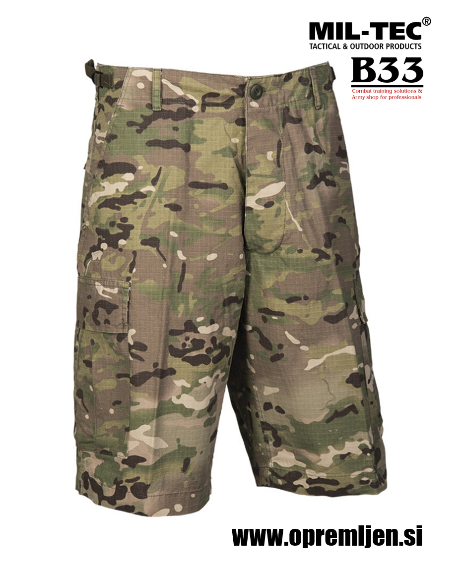 B33 army shop - US bermuda hlače ACU multicamo MIL-TEC