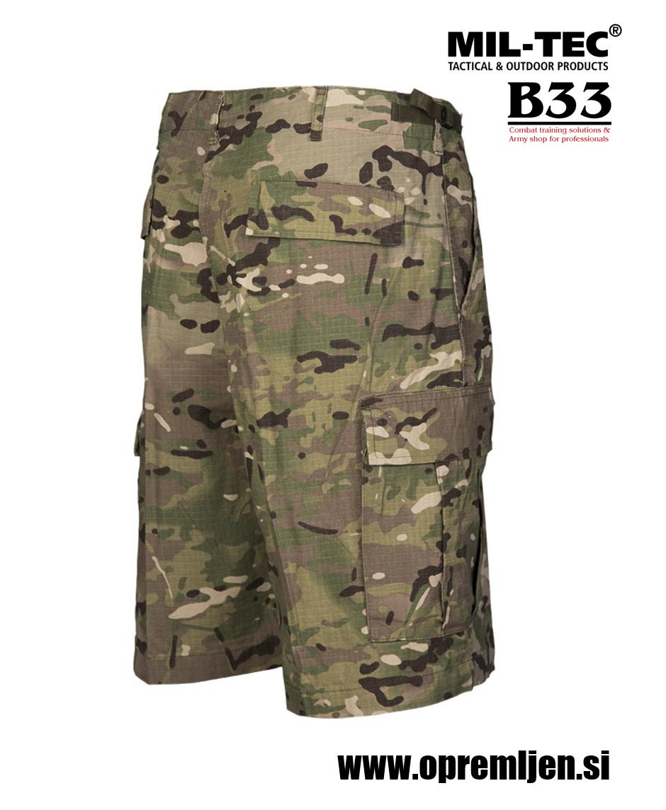 B33 army shop - US bermuda ACU hlače multicamo MIL-TEC