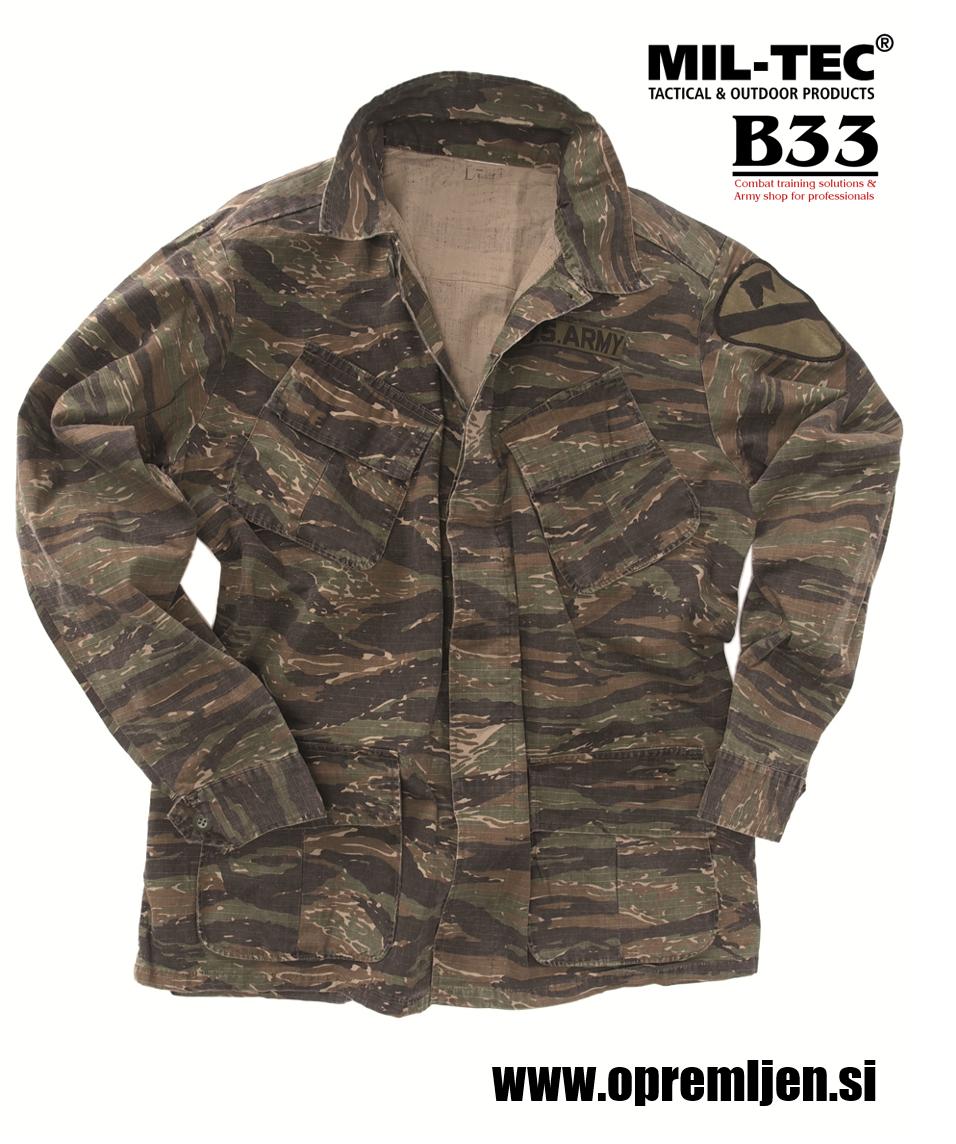 US army jakne vietnam TIGER STRIPE by MILTEC powered by B33 army shop at www.opremljen.si