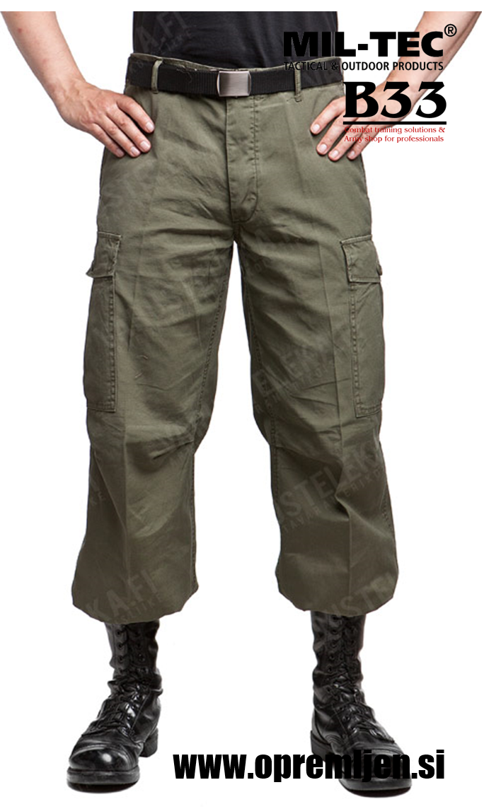 Vojaške hlače US M64 Vietnam jungle pants MILTEC by B33 army shop at www.opremljen.si