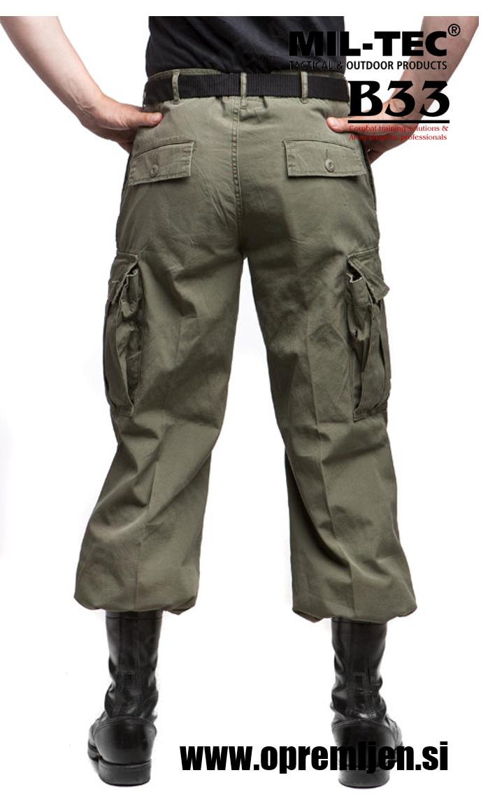 Vojaške bojne hlače US M64 Vietnam jungle pants MILTEC by B33 army shop at www.opremljen.si