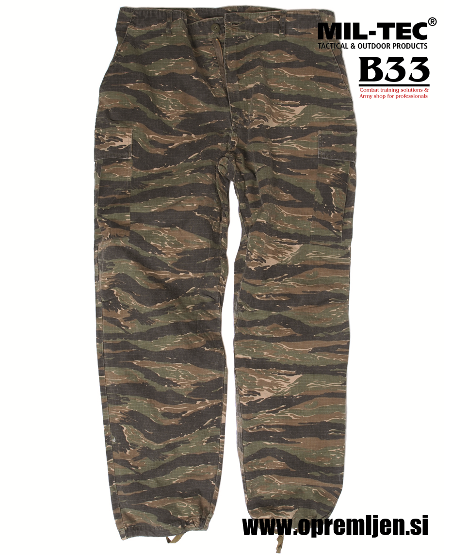 US Vietnam jungle tiger stripe hlače by MILTEC powered by B33 army shop at www.opremljen.si