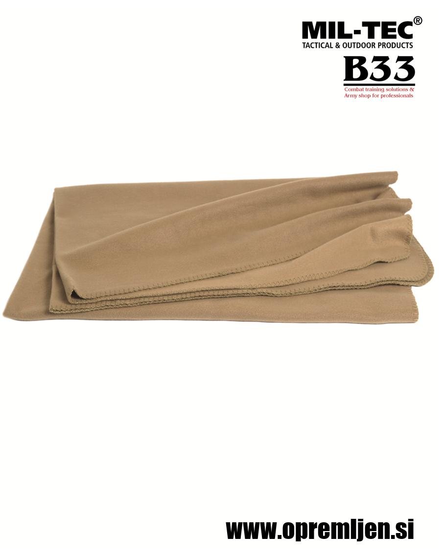 B33 army shop - Vojaška deka, deka iz termoflisa, MILTEC, MIL-TEC, B33 army shop at www.opremljen.si, vojaška trgovina, trgovina z vojaško opremo