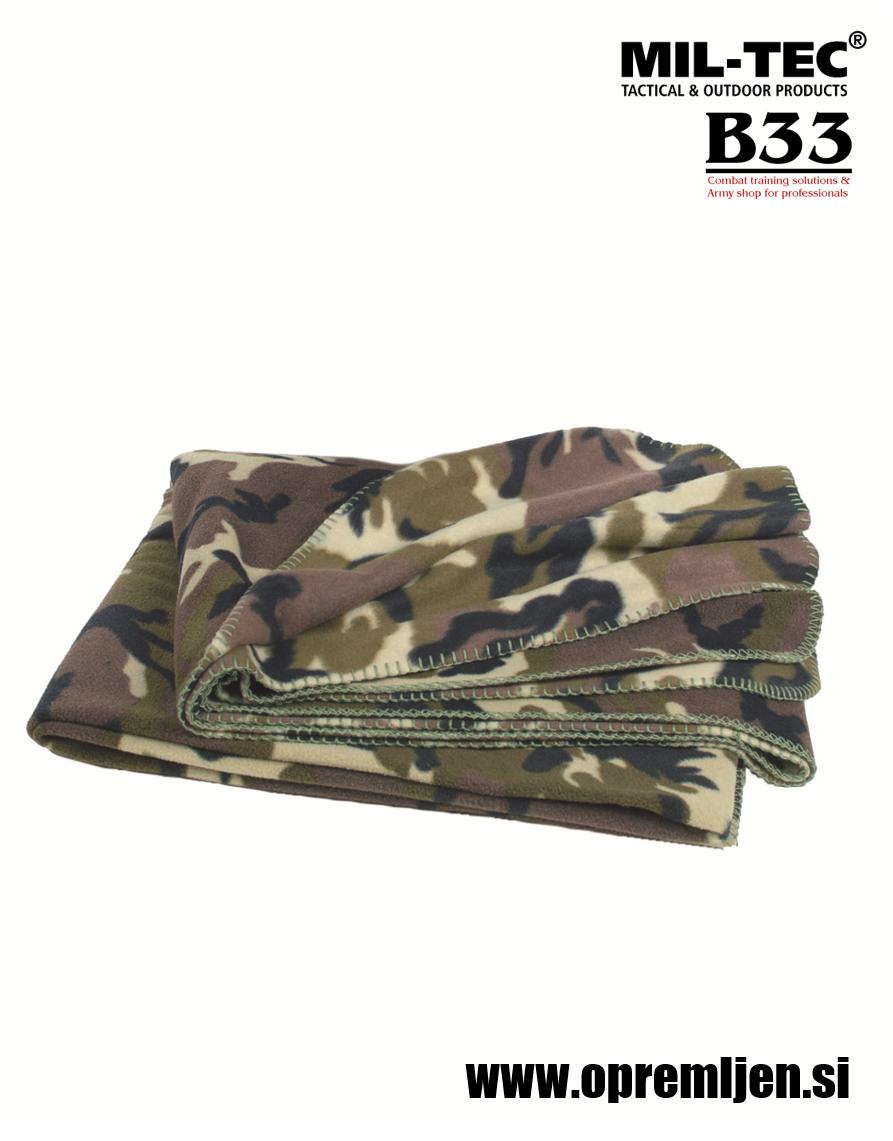 B33 army shop, army shop, vojaška deka, deka iz termoflisa, deka za kampiranje, deka za taborjenje, deka za nahrbtnik, deka z avtomobil, MILTEC, MIL-TEC, B33 army shop at www.opremljen.si, vojaška trgovina, trgovina z vojaško opremo