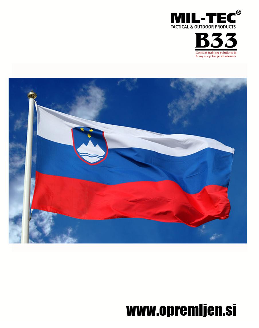 B33 army shop - slovenska zastava MILTEC, MIL-TEC, opremite se na www.opremljen.si (trgovina z vojaško opremo, vojaška trgovina)