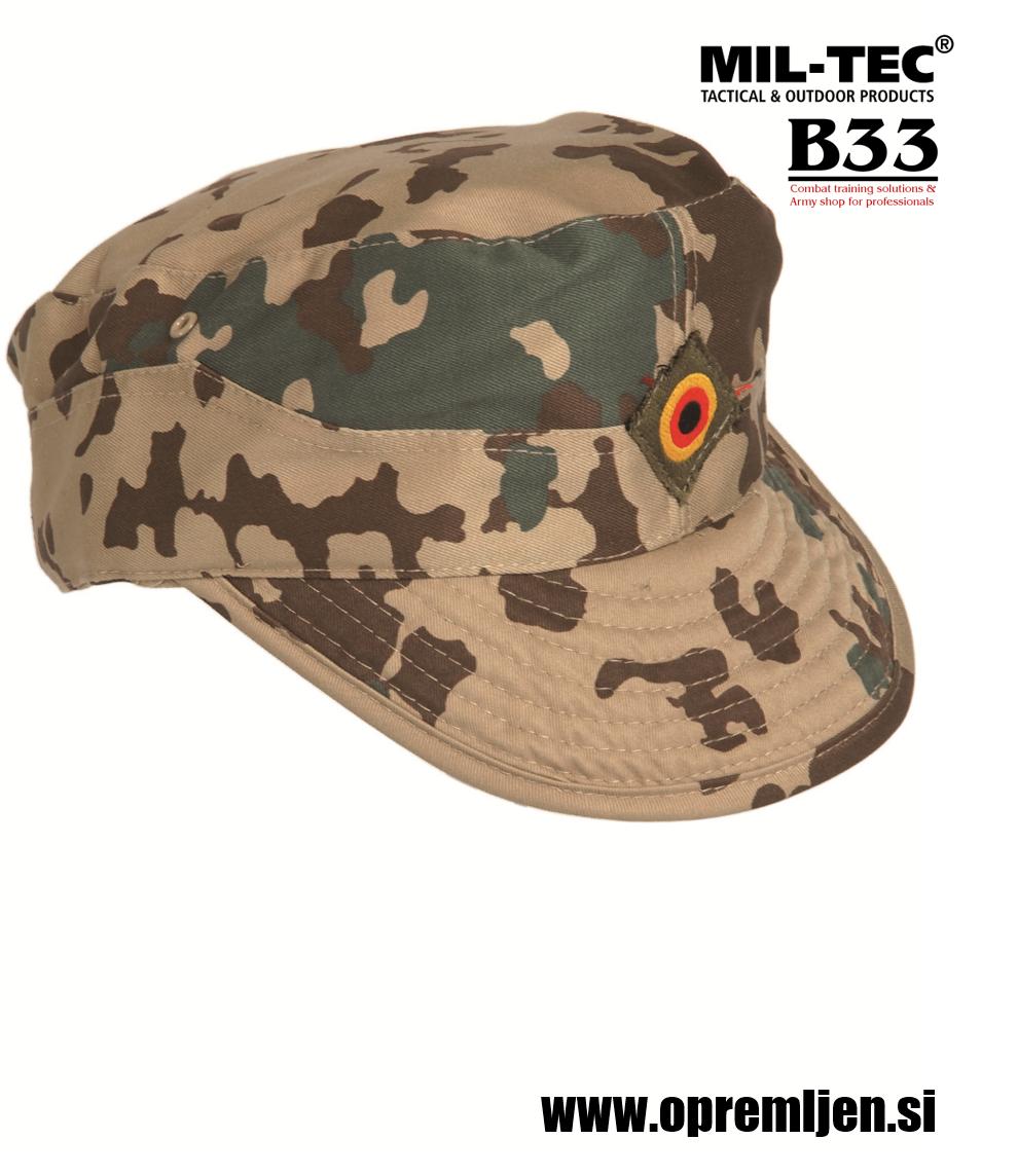 Nemška Bundeswehr vojaška kapa tropical camo MILTEC by B33 army shop. Opremite se na www.opremljen.si trgovina z vojaško opremo, vojaška trgovina