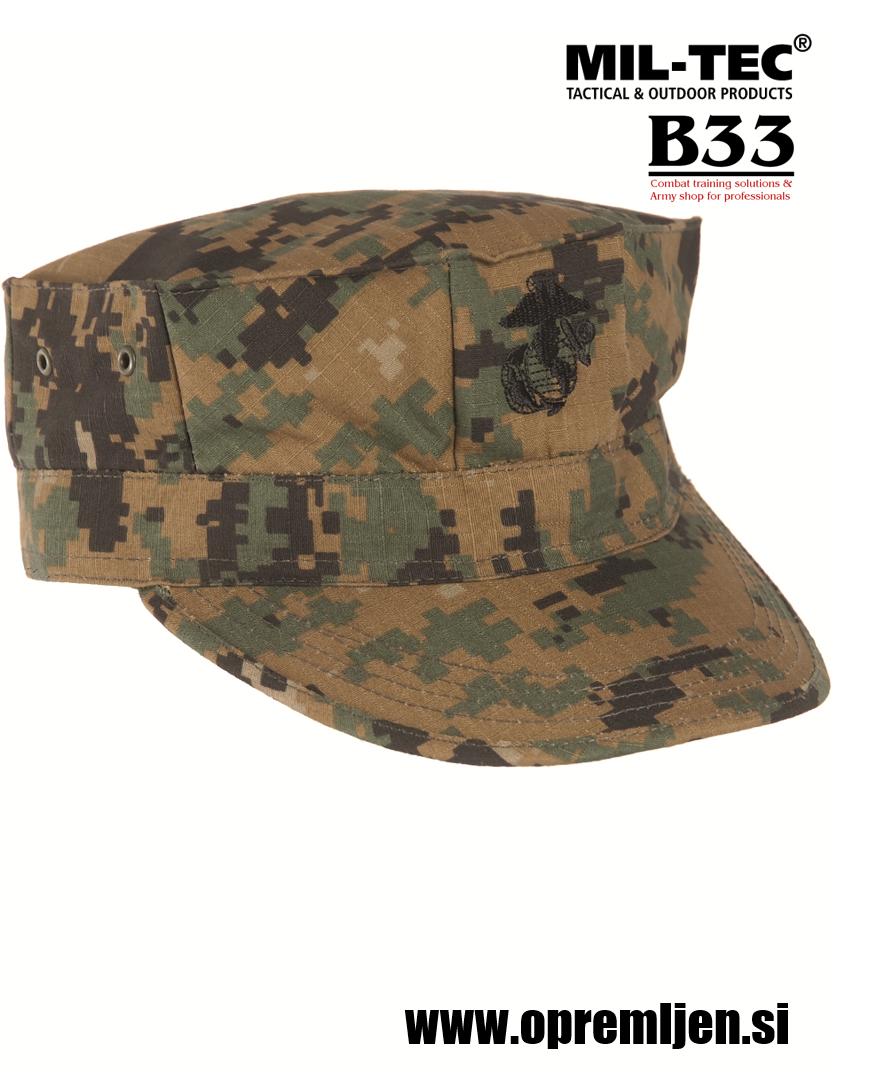 B33 army shop - vojaška kapa us marine corps marpat, trgovina z vojaško opremo, vojaška trgovina, MILTEC. MIL-TEC
