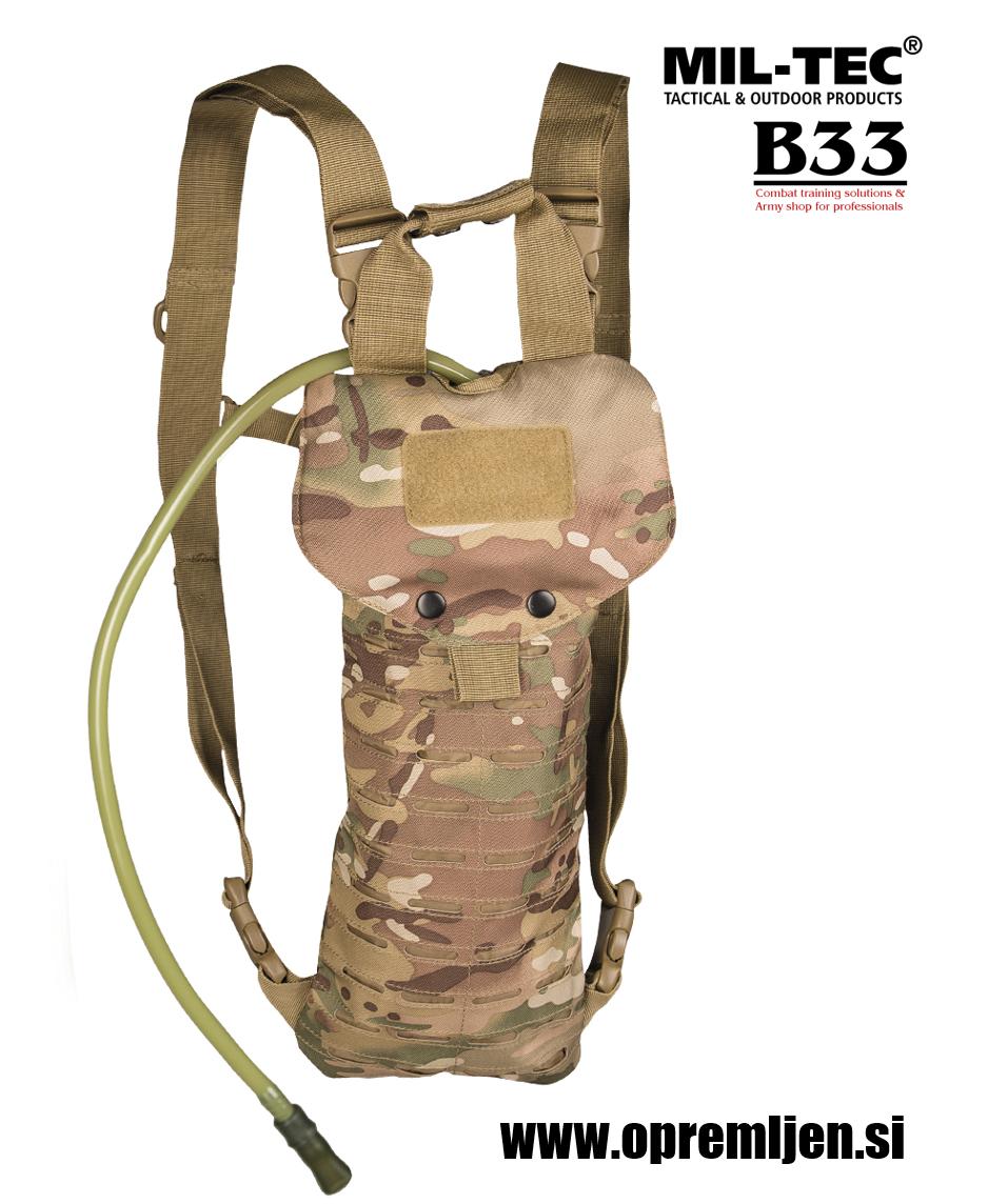 Profesionalni vojaški hidracijski meh multicamo 2,5 litra by B33 army shop at www.opremljen.si