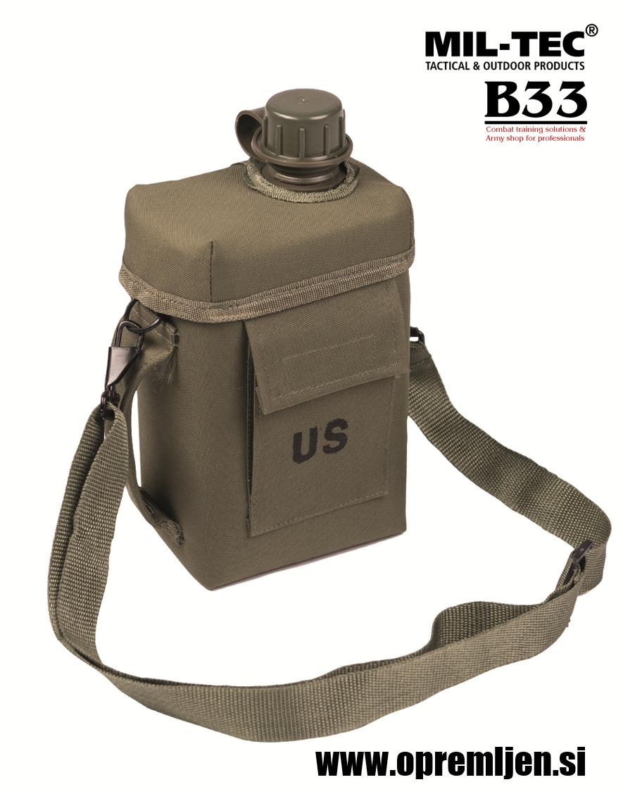 US vojaška čutara kapecitete 2 litra oliv by B33 army shop at www.opremljen.si