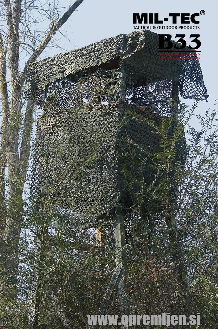 B33 army shop - vojaška maskirna mreža by B33 army shop at www.opremljen.si, trgovina z vojaško opremo, vojaška trgovina