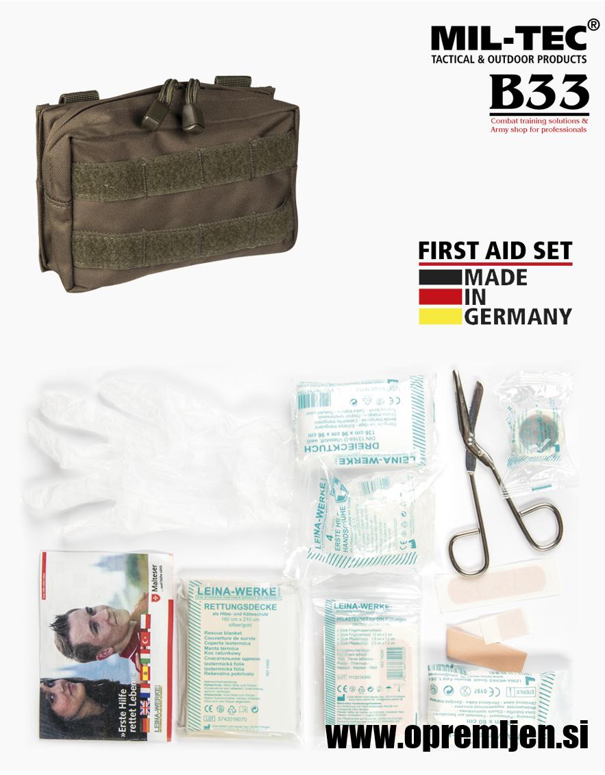 B33 army shop - prva pomoč 25delna LEINA WERKE GMBH